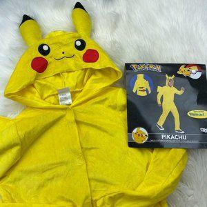 * Pikachu Boys Halloween Costume One Piece Hood